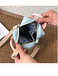 Мини - сумочка Doughnut голубая  Код 10-2150, фото 8