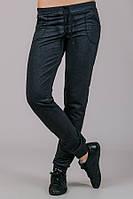 Женские трикотажные брюки темно-серые, фото 1