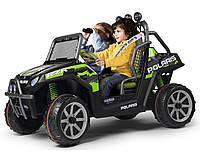 Детский электромобиль Polaris Ranger RZR Green Shadow 24V  Peg Perego