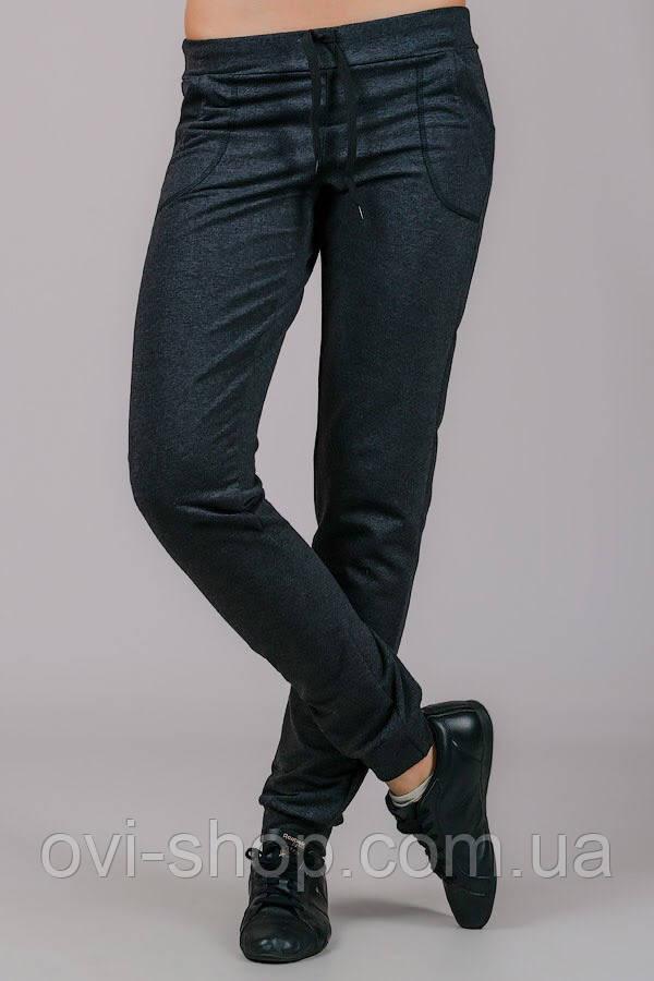 Женские штаны темно-серые