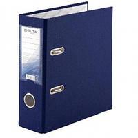 Папка регистратор А5 DELTA 1718-02С односторонний 7 5см. Синяя РР (1)