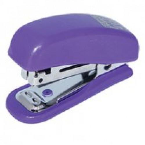 Степлер BUROMAX (скоба №10) 4125-07 10л. пластик фиолетовый (1/48)