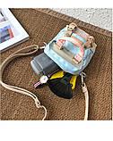Мини - сумочка Doughnut пудра  Код 10-2204, фото 9