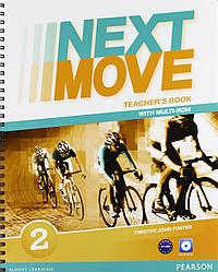 Книга для учителя Next Move 2 Teacher's book +CD