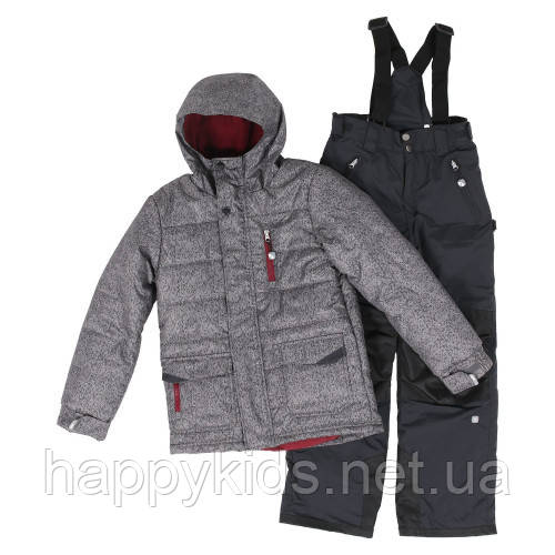 Зимний костюм для мальчика SNO F18M313 Deep Gray. Размеры 7 - 16 лет.
