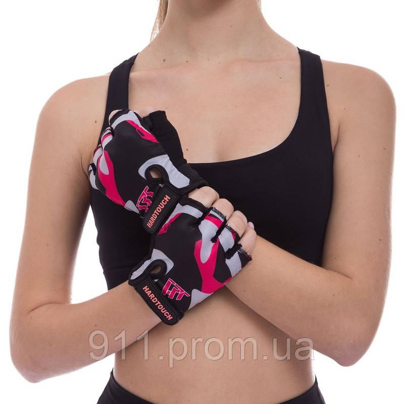 Перчатки для фитнеca HARD TOCH FG-009