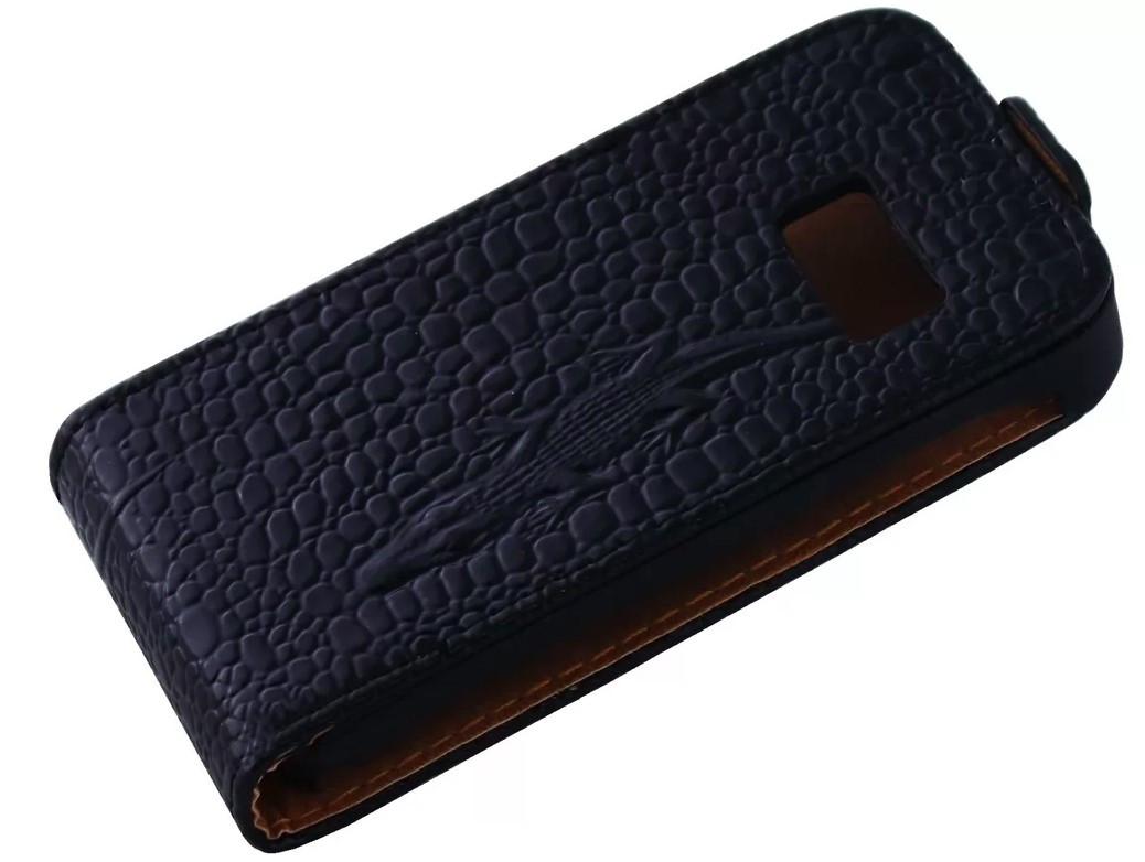 Чехол книжка Atlanta для Samsung S6802 Black