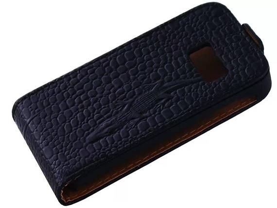 Чехол книжка Atlanta для Samsung S6802 Black, фото 2