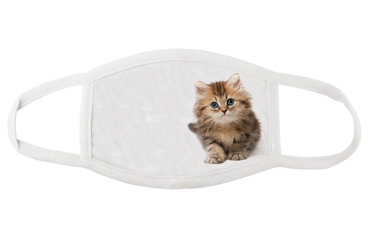 Тканевая маска для лица Милым котенком