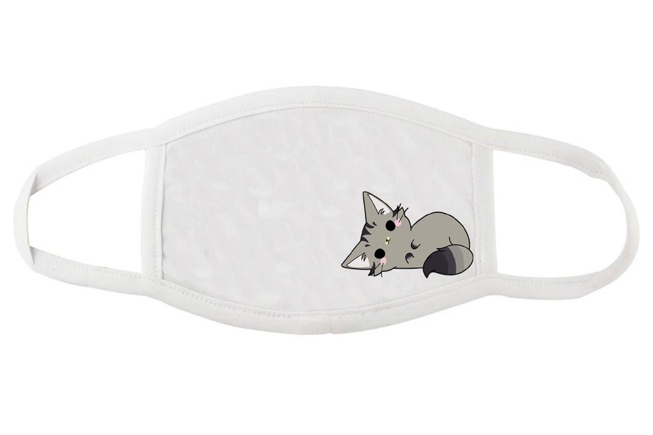 Тканевая маска для лица с кошечкой