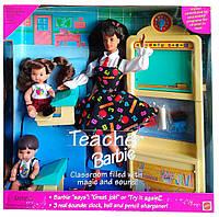 Игровой набор кукла Барби Учитель Barbie Teacher 1995 Mattel 16210
