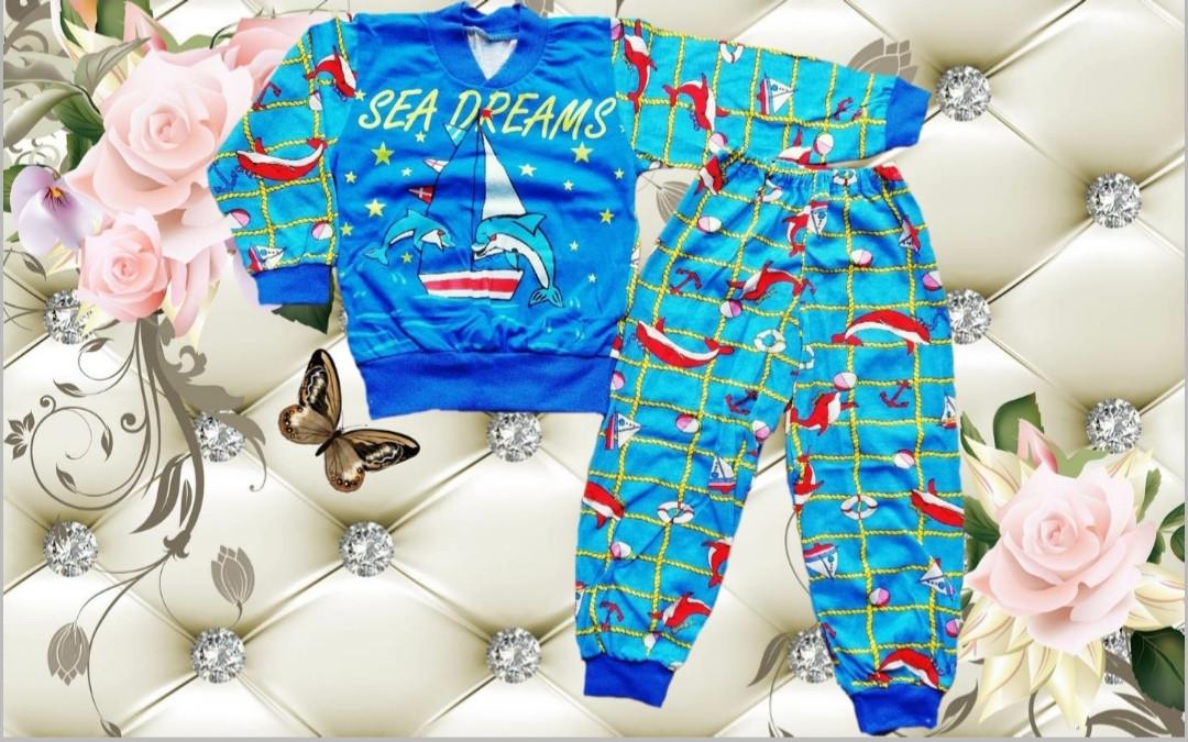 Детская пижама из кулира SEA DREAMS