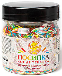 Посыпка пасхальная ПАЛОЧКА 100 г., баночка п/э