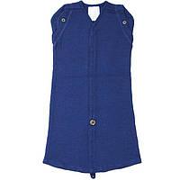 Спальный мешок из шерсти мериноса MAM ManyMonths (размер 50-56/62, синий)