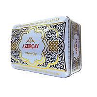 """Чай """"Azercay"""" 250г ж/б ЗЕЛЕНИЙ Сундук Набір: Чай чорний + Чай зелений (1/20)"""