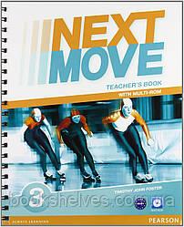Книга для учителя  Next Move 3 Teacher's book+CD