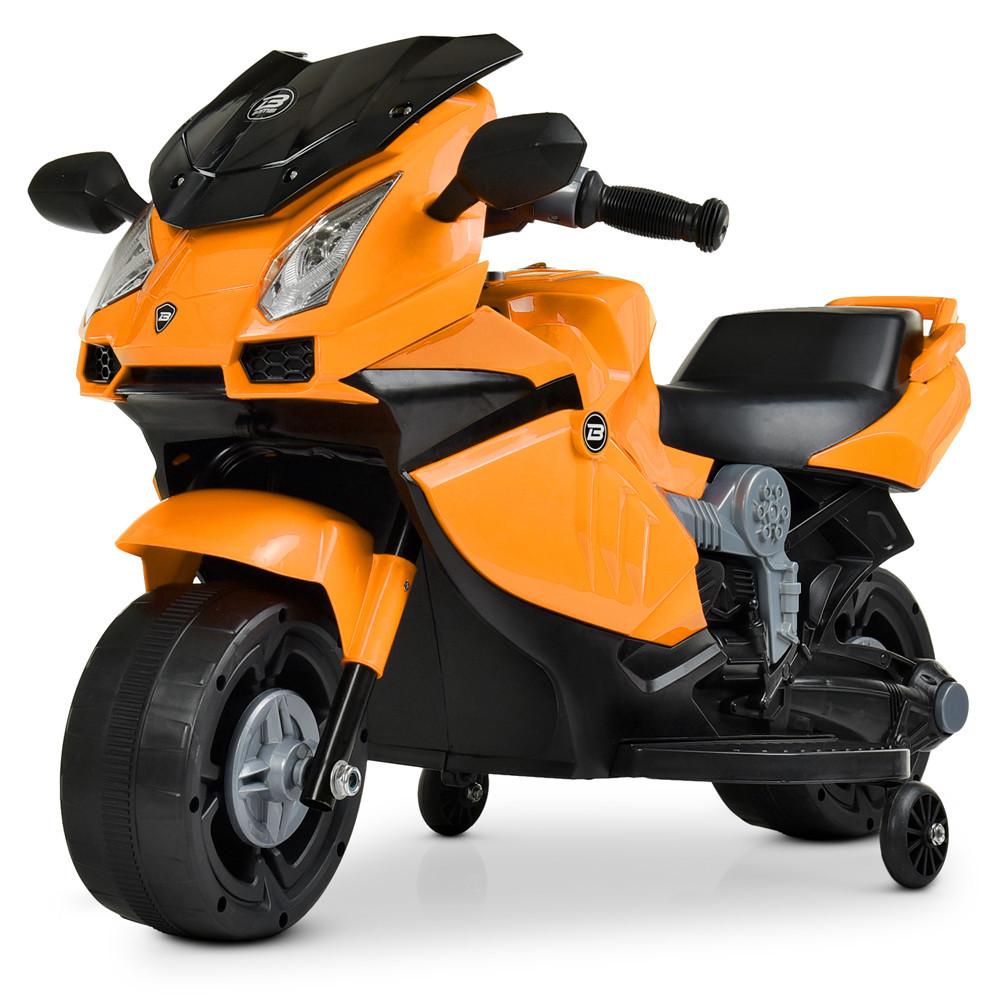 Электромотоцикл Bambi Racer Фары светятся, музыка, 1 аккумулятор