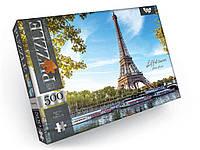 Пазлы Эйфелева башня, Париж 500 элементов Dankotoys