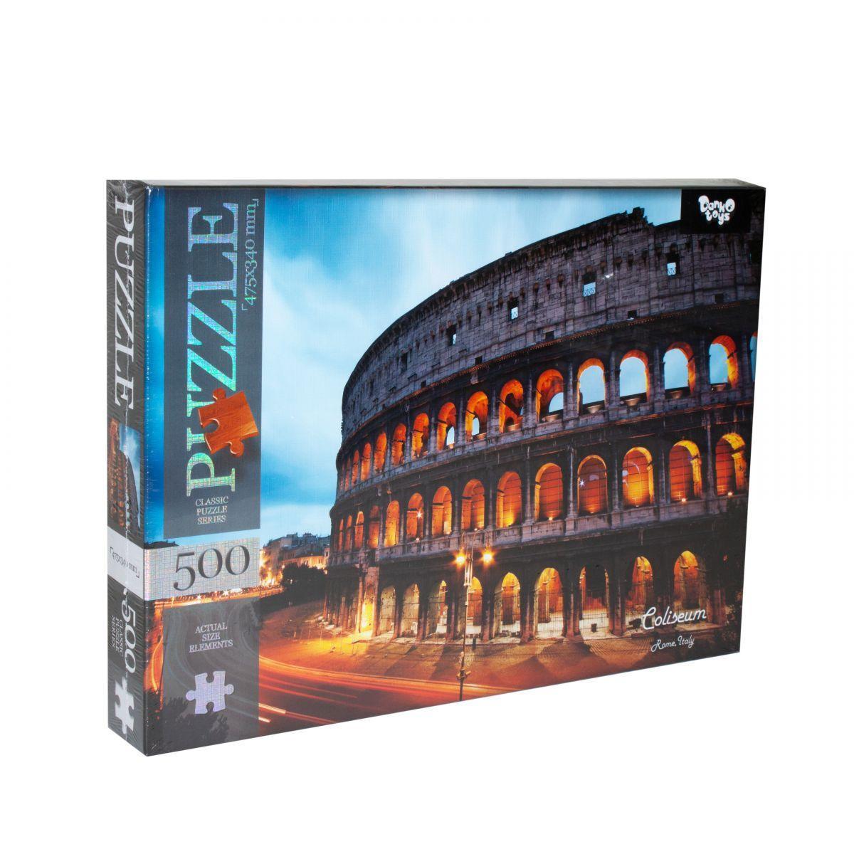 Пазлы Колизей, Рим, Италия 500 элементов Dankotoys