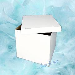 Коробка сюрприз большая белая