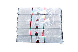 Резинка швейная Белая 5м-3см 5шт/уп. 200шт/меш.