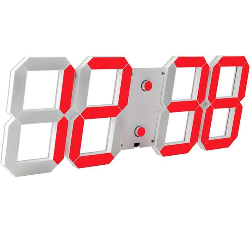 Настенные LED часы CHI-HAI красные, L1-B