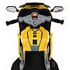 Мотоцикл Bambi M 4082-6 Желтый, фото 5