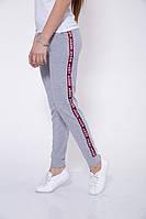 Спорт штаны женские 102R033 цвет Серый