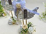 Великодній сувенір - Качечки на підставці з коліщатками, HandMade 25см 100% Hand-Made, фото 3