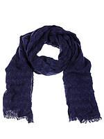 Шарф CA 200x60 см Темно-синий 103001267, КОД: 1604968