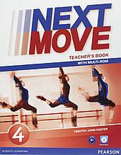 Книга для вчителя Next Move 4 teacher's book+CD