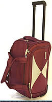 Дорожная качественная каркасная сумка на колесах Mercury боддовая