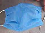 Маска защитная, 3-х слойная, спанбонд 30 плотность, фото 4