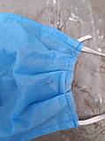 Маска защитная, 3-х слойная, спанбонд 30 плотность, фото 3