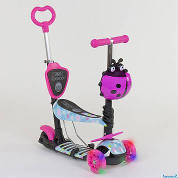 Самокат Best Trike 5в1 11210 Розовый