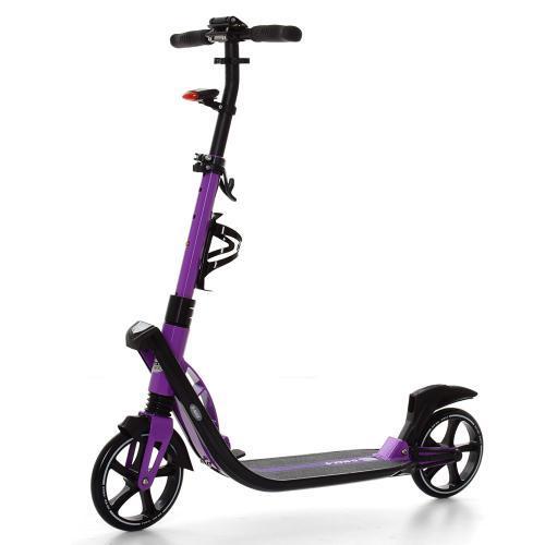 Самокат ITrike SR 2-015-3-V Фиолетовый