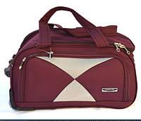 Дорожная качественная каркасная сумка на колесах Mercury боддовая ,  сумка на колеса средний