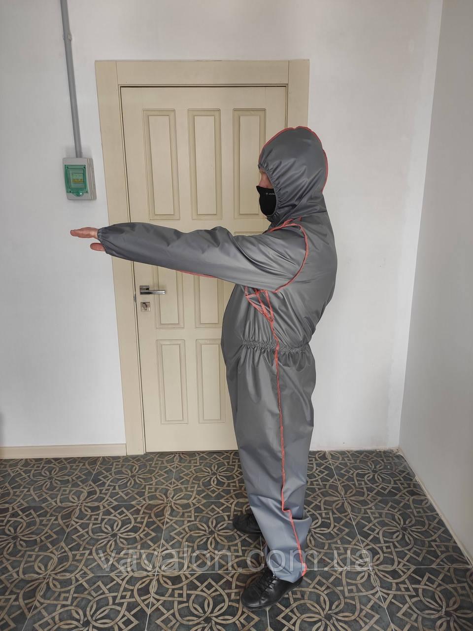 Защитный комбинезон многоразовый -02