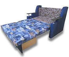 Диван - ліжко Березня (Джинс) 140 Дитячий диван з нішею для білизни, фото 2
