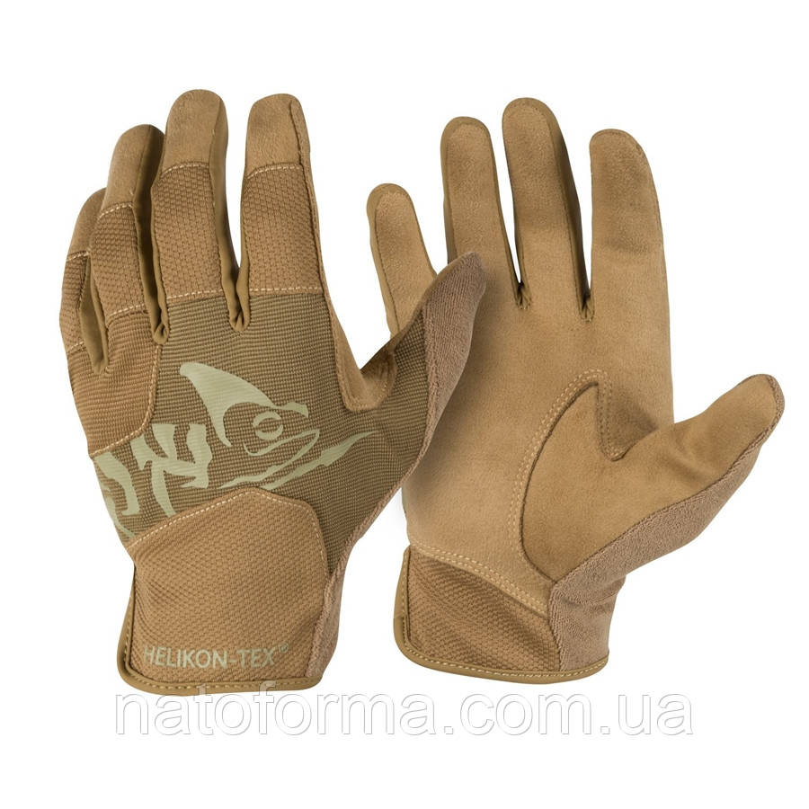 Тактические перчатки Helikon-Tex® All Round Tactical Gloves Light, Coyote/Adaptive Green