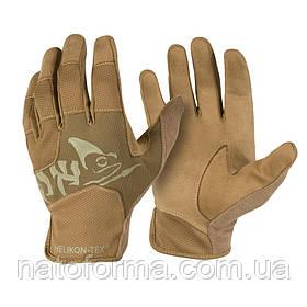 Тактические перчатки Helikon-Tex® All Round Fit Tactical Gloves Light, Coyote/Adaptive Green