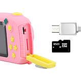 Детский цифровой фотоаппарат Smart Kids Camera  Код 15-0132, фото 5