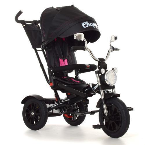 Велосипед трехколесный TURBOTRIKE M 4056HA-20-4 Чёрный