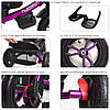 Велосипед трехколесный TURBOTRIKE M 4058-8 Фиолетовый, фото 2