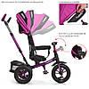 Велосипед трехколесный TURBOTRIKE M 4058-8 Фиолетовый, фото 5