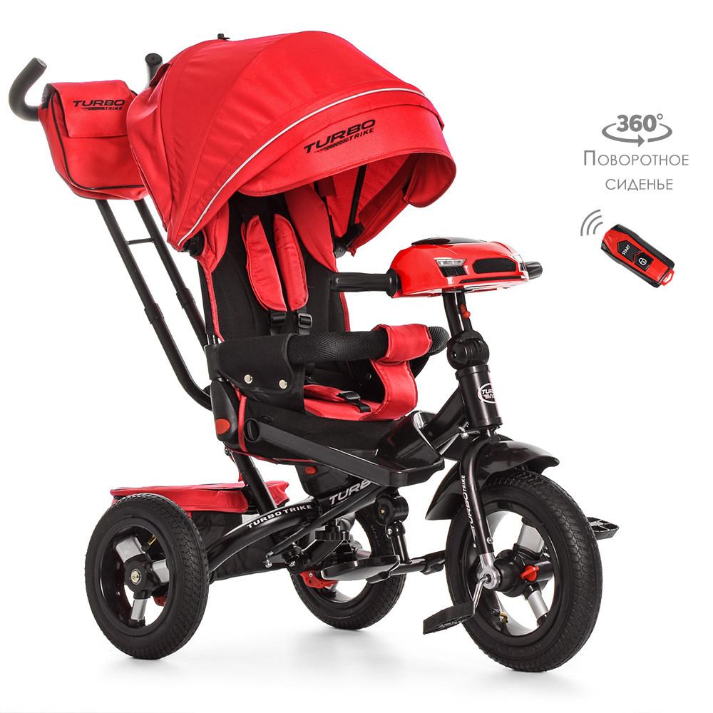 Велосипед трехколесный TURBOTRIKE M 4060-1Красный