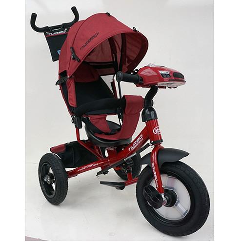 Велосипед трехколесный TURBOTRIKE M 3115HA-3L Красный