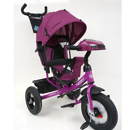 Велосипед трехколесный TURBOTRIKE M 3115HA-18L Фиолетовый