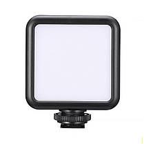 Накамерный свет Ulanzi W49 для фотоаппарата и камеры качественная съемка фото и видео в темноте, фото 2