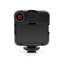 Накамерный свет Ulanzi W49 для фотоаппарата и камеры качественная съемка фото и видео в темноте, фото 3